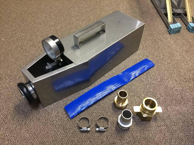 放水圧力測定器用変換アダプター