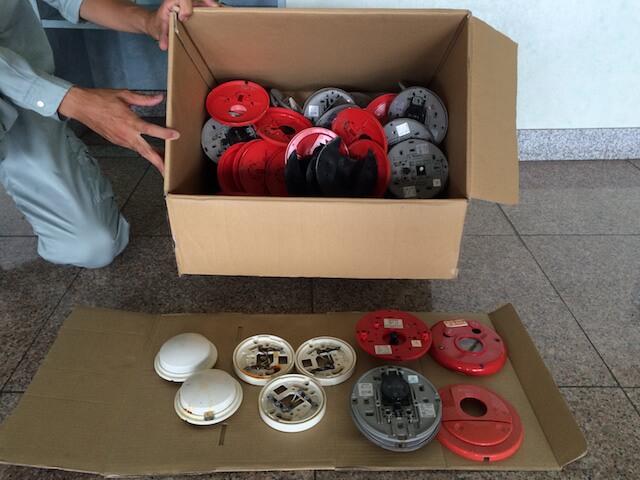 消防用設備と塩害