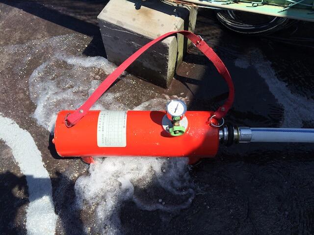 放水試験用テスト金具